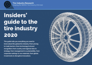 Insiders' guide to the tire industry 2020 cover